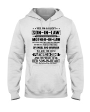 PARTNERS IN CRIME - GREAT GIFT FOR SON-IN-LAW Hooded Sweatshirt tile