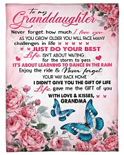 """I LOVE YOU - PERFECT GIFT FOR GRANDDAUGHTER Small Fleece Blanket - 30"""" x 40"""" front"""