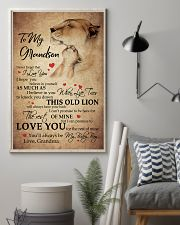 MY BABY BOY - SPECIAL GIFT FOR GRANDSON 11x17 Poster lifestyle-poster-1