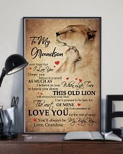 MY BABY BOY - SPECIAL GIFT FOR GRANDSON 11x17 Poster lifestyle-poster-2