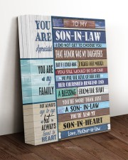 YOU ARE MY FAMILY - GREAT GIFT FOR SON-IN-LAW 11x14 Gallery Wrapped Canvas Prints aos-canvas-pgw-11x14-lifestyle-front-17
