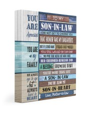 YOU ARE MY FAMILY - GREAT GIFT FOR SON-IN-LAW 11x14 Gallery Wrapped Canvas Prints front