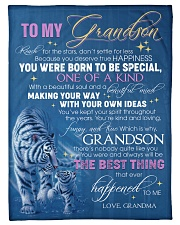 """YOU WERE BORN TO BE SPECIAL - GIFT FOR GRANDSON Small Fleece Blanket - 30"""" x 40"""" front"""