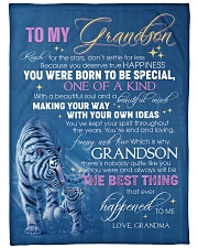YOU WERE BORN TO BE SPECIAL - GIFT FOR GRANDSON Fleece Blanket tile