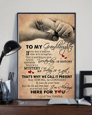JUST DO YOUR BEST - GREAT GIFT FOR GRANDDAUGHTER 11x17 Poster lifestyle-poster-2