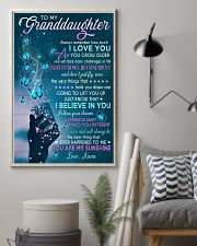 I BELIEVE IN YOU - BEST GIFT FOR GRANDDAUGHTER 11x17 Poster lifestyle-poster-1