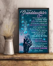 I BELIEVE IN YOU - BEST GIFT FOR GRANDDAUGHTER 11x17 Poster lifestyle-poster-3