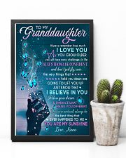 I BELIEVE IN YOU - BEST GIFT FOR GRANDDAUGHTER 11x17 Poster lifestyle-poster-8