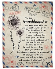 """I'LL ALWAYS BE WITH YOU GIFT FOR GRANDDAUGHTER  Small Fleece Blanket - 30"""" x 40"""" front"""