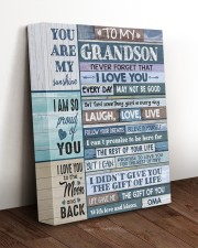 EVERY DAY - SPECIAL GIFT FOR GRANDSON 11x14 Gallery Wrapped Canvas Prints aos-canvas-pgw-11x14-lifestyle-front-17