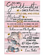 I LOVE YOU FOREVER - BEST GIFT FOR GRANDDAUGHTER 11x17 Poster front