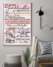 I LOVE YOU FOREVER - BEST GIFT FOR GRANDDAUGHTER 11x17 Poster lifestyle-poster-1