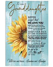 THE GIFT OF LIFE - GREAT GIFT FOR GRANDDAUGHTER 11x17 Poster front