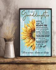 THE GIFT OF LIFE - GREAT GIFT FOR GRANDDAUGHTER 11x17 Poster lifestyle-poster-3