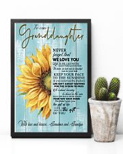 THE GIFT OF LIFE - GREAT GIFT FOR GRANDDAUGHTER 11x17 Poster lifestyle-poster-8