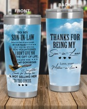 THE GIFT OF LIFE - GREAT GIFT FOR SON-IN-LAW 20oz Tumbler aos-20oz-tumbler-lifestyle-front-56