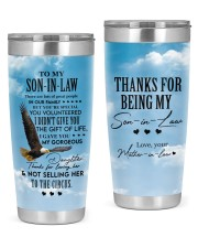THE GIFT OF LIFE - GREAT GIFT FOR SON-IN-LAW 20oz Tumbler front