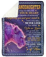 "DEEP IN YOUR HEART - GREAT GIFT FOR GRANDDAUGHTER Large Sherpa Fleece Blanket - 60"" x 80"" thumbnail"