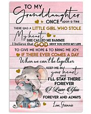 ONCE UPON A TIME - BEST GIFT FOR GRANDDAUGHTER 11x17 Poster front