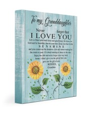 I LOVE YOU - GRANDMA TO GRANDDAUGHTER 11x14 Gallery Wrapped Canvas Prints front
