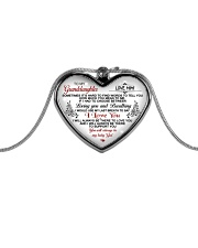 1 DAY LEFT - GET YOURS NOW Metallic Heart Necklace front