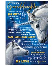 T THINK ABOUT YOU - BEST GIFT FOR GRANDDAUGHTER Vertical Poster tile