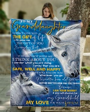 """T THINK ABOUT YOU - BEST GIFT FOR GRANDDAUGHTER Quilt 50""""x60"""" - Throw aos-quilt-50x60-lifestyle-front-01"""