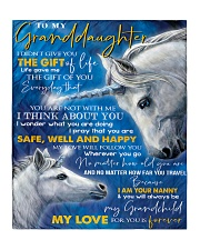 """T THINK ABOUT YOU - BEST GIFT FOR GRANDDAUGHTER Quilt 50""""x60"""" - Throw front"""