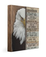 I LOVE YOU - AMAZING GIFT FOR GRANDSON FROM NANA 11x14 Gallery Wrapped Canvas Prints front