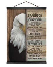 I LOVE YOU - AMAZING GIFT FOR GRANDSON FROM NANA Hanging Canvas tile