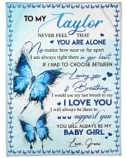 "I LOVE YOU - AMAZING GIFT FOR TAYLOR Large Fleece Blanket - 60"" x 80"" thumbnail"