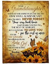 MY BABY GIRL - GRANDMA TO GRANDDAUGHTER Fleece Blanket tile