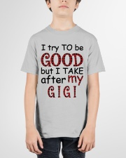 TAKE AFTER MY GIGI - SPECIAL GIFT FOR GRANDKIDS Youth T-Shirt garment-youth-tshirt-front-01