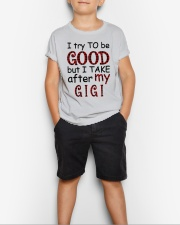 TAKE AFTER MY GIGI - SPECIAL GIFT FOR GRANDKIDS Youth T-Shirt lifestyle-youth-tshirt-front-1