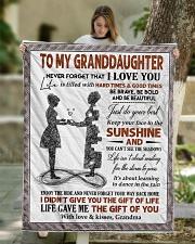 """YOUR WAY BACK HOME - BEST GIFT FOR GRANDDAUGHTER Quilt 50""""x60"""" - Throw aos-quilt-50x60-lifestyle-front-01"""