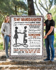 """YOUR WAY BACK HOME - BEST GIFT FOR GRANDDAUGHTER Quilt 50""""x60"""" - Throw aos-quilt-50x60-lifestyle-front-04"""