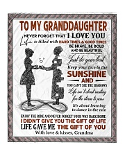 """YOUR WAY BACK HOME - BEST GIFT FOR GRANDDAUGHTER Quilt 50""""x60"""" - Throw front"""