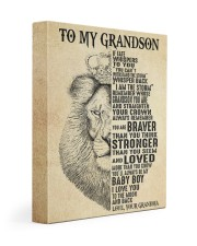 IF FATE WHISPERS TO YOU - GRANDMA TO GRANDSON 11x14 Gallery Wrapped Canvas Prints front