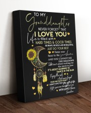 I LOVE YOU - LOVELY MESSAGE GIFT FOR GRANDDAUGHTER 11x14 Gallery Wrapped Canvas Prints aos-canvas-pgw-11x14-lifestyle-front-17