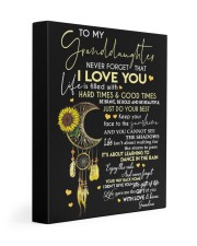 I LOVE YOU - LOVELY MESSAGE GIFT FOR GRANDDAUGHTER 11x14 Gallery Wrapped Canvas Prints front