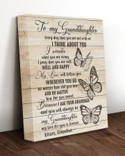 I THINK ABOUT YOU - PERFECT GIFT FOR GRANDDAUGHTER 11x14 Gallery Wrapped Canvas Prints aos-canvas-pgw-11x14-lifestyle-front-17