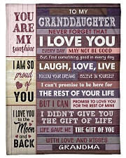"""I AM SO PROUD OF YOU - BEST GIFT FOR GRANDDAUGHTER Small Fleece Blanket - 30"""" x 40"""" front"""