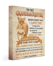 I LOVE YOU - GREAT GIFT FOR GRANDDAUGHTER 11x14 Gallery Wrapped Canvas Prints front
