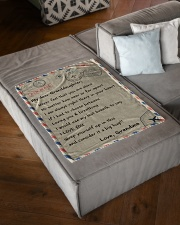 """IT A BIG HUG - BEST GIFT FOR GRANDDAUGHTER Small Fleece Blanket - 30"""" x 40"""" aos-coral-fleece-blanket-30x40-lifestyle-front-03"""