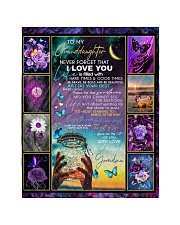 """I LOVE YOU - AMAZING GIFT FOR GRANDDAUGHTER Quilt 40""""x50"""" - Baby thumbnail"""