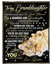 """I LOVE YOU FOREVER - GREAT GIFT FOR GRANDDAUGHTER Small Fleece Blanket - 30"""" x 40"""" front"""