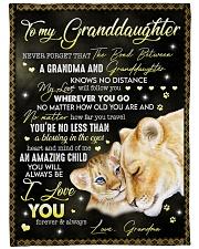 I LOVE YOU FOREVER - GREAT GIFT FOR GRANDDAUGHTER Fleece Blanket tile