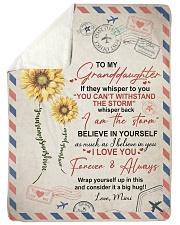 BELIEVE IN YOURSELF - MIMI TO GRANDDAUGHTER Sherpa Fleece Blanket tile
