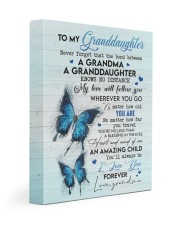 I LOVE YOU FOREVER - GREAT GIFT FOR GRANDDAUGHTER 11x14 Gallery Wrapped Canvas Prints front
