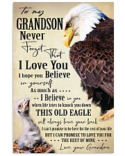 I BELIEVE IN YOU - SPECIAL GIFT FOR GRANDSON 11x17 Poster front